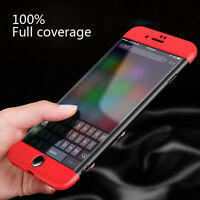 360° Waterproof Dustproof Rubber Phone Case Cover For iPhone X 8 6s 7 Plus 5 5s