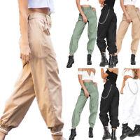 Women CASUAL JOGGER Dance Harem Sport Pants Baggy SLACKS Trousers SWEATPANTS HOT