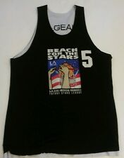 Vtg LA Gear Reach For The Stars Basketball Reversible League Jersey Sz Large