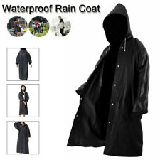 Full body Waterproof Hooded RainCoat Army Rain Jacket Cover Protection US