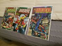 Marvel Daredevil lot 155 156 217 Nice Bright Black Widow Avengers Hercules