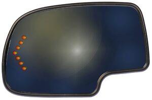 Door Mirror Glass fits 2003-2007 GMC Sierra 1500 Sierra 2500 HD,Sierra 3500,Yuko