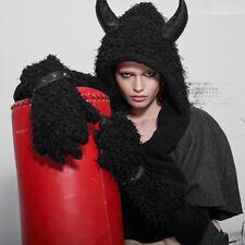 Punk Rave Devil Kitty Sjaal met muts en klauwen Gothic Theater Carnaval PS-031