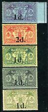 NOUVELLES HEBRIDES 1920 Yvert 64-68 ** POSTFRISCH (D7416