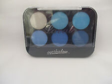 Laval Eyeshadows Palette Blue Collection 6 Colours New
