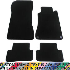 Mercedes CLC Coupe 2008-2011 Fully Tailored 4 Piece Car Mat Set with 2 Clips
