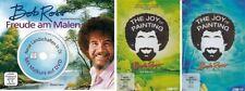 5 DVDs * BOB ROSS - FREUDE AM MALEN (+BUCH) + JOY OF PAINTING SET # NEU OVP WVG