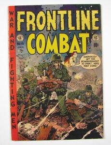 Frontline Combat Golden Age Comic Book #15 1954 EC
