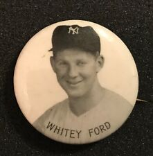 1950's Whitey Ford PM10 Pin New York Yankees