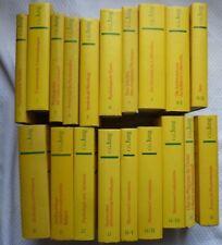 C. G. Jung - Walter Verlag - 19 volumes - collection complète - en allemand