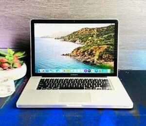 """15"""" MacBook Pro - i7, 8GB RAM, 256GB SSD + WARRANTY (2020 OS)"""