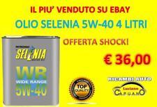 OLIO PER AUTO/MOTORI SELENIA 5W-40 4L. FIAT/OPEL/ALFA ROMEO/LANCIA