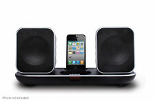 Laser Wireless 2.4Ghz Speaker  iPhone iPod Dock AUX SPK-IPT3110 rechargable batt