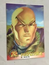 X-MEN FLEER ULTRA card nr 9  PROFESSOR X  MARVEL