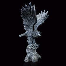 Scultura Aquila in Bronzo Fusione a Cera Persa Bronze Eagle Sculpture H.50cm