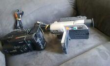 2 SONY HANDYCAM CCD-TRV308 VIDEO 8 HI8 8MM CAMCORDER NIGHTSHOT 460X ZOOM@10X