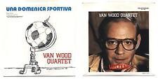 "45 Giri Peter VAN WOOD QUARTET Una domenica sportiva - Vattene 1982 NUOVO 7"" La"