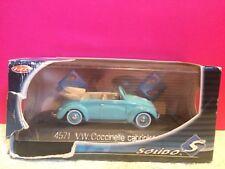 SOLIDO SUPERBE VW COCCINELLE CABRIOLET 1950 1/43 EN BOITE R5