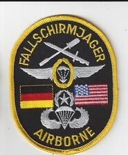 FALLSCHIRMJAGER AIRBORNE PATCH