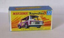 Repro Box Matchbox Superfast Nr.22 Freeman Intercity