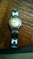 Jaeger LeCoultre Memovox Stainless automatic Alarm ultra rare 60's watch woow