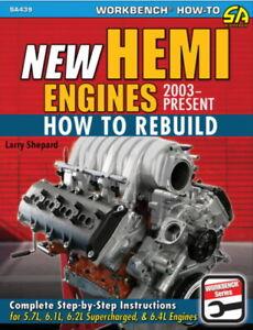 How To Rebuild New Hemi Engines 2003 - Present - Book SA439