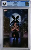 X-MEN 1 CGC 9.6 VIRGIN LEE VARIANT SOLD OUT W/COA X-23 WOLVERINE 2019 AVENGERS!