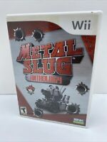 Metal Slug Anthology (Nintendo Wii, 2006) Complete CIB FREE SHIPPING