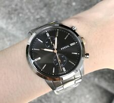 Fossil Watch * FS5407 Townsman Chronograph Silver Steel for Men COD PayPal