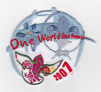2007 World Scout Jamboree SINGAPORE EIST SCOUTS ONE WORLD ONE PROMISE PATCH