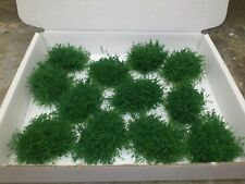 New!! 12 Dark Green Bushes N gauge for model/miniture railway, figure gaming etc