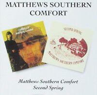 Matthews Southern Comfort - First Album / Second Spring [CD]