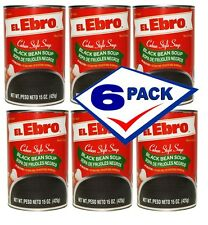 Ready to Eat Black Bean Soup. Cuban style. 15 oz Pack of 6