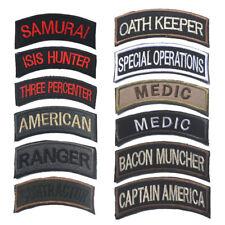 """""""Oath Vocation"""" Bent Sew Embroidered Patch Shoulder Flash Badge AU"""