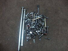 02 HONDA CBR1100 CBR1100XX BLACKBIRD BOX OF BOLTS, WASHERS, NUTS #YJ11