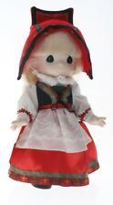 """Children of the World Precious Moments Doll 9"""" Ollie from Norway Little Girl"""