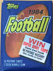 1984 Topps Football Sealed Unopened Wax Pack - Possible Marino or Elway RC