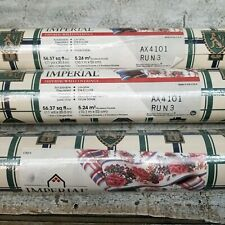 3 Rolls Imperial Wall Covering Wallpaper Vintage Castle Creast