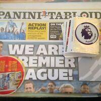 Panini Tabloid Premier League Stickers no 1 - 120 , 2018/19 ,BUY 3 GET 10 FREE