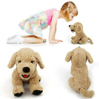 12'' Plush Dog Puppy Stuffed Animals Soft Cuddly Golden Retriever Kids Doll Toys