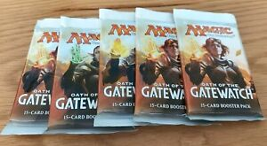 MTG Magic The Gathering Magic - Oath of the Gatewatch -  Booster Packs x 5