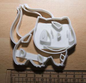 pokemon bulbasaur Cookie or fondant  Cutter 3d printed