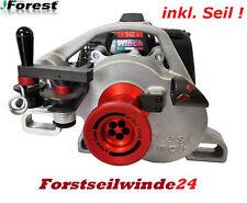 Spillwinde Docma VF 105 RED IRON + 100 Zugseil / Motorseilwinde / Benzinwinde