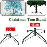 1 x Christmas Tree Green Pine Stand Metal Holder Base Cast Iron Shelf Decor