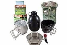 Army Crusader Cooking System Survival Bushcraft Fishing Festival