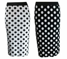 Polka Dot Plus Size Skirts for Women