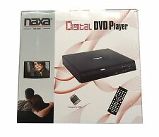 Naxa Compact Digital Media and DVD Player with USB Input & Remote Control