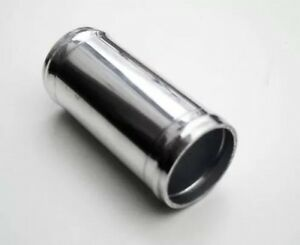 """3"""" 76mm Aluminium Alloy Hose Joiner Pipe Connector Silicone Rubber"""