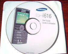 CD Samsung SGH-i616 User Guide GH46-00580A