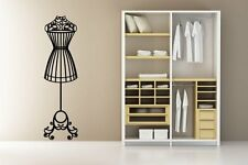 Elegant Mannequin - Large Wall Stickers / Vinyl Decoration. Many colours. New!